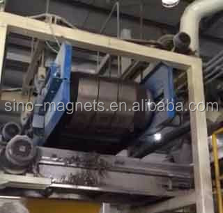 Durable Continous high-impact crossbelt over-conveyor magnetic separator