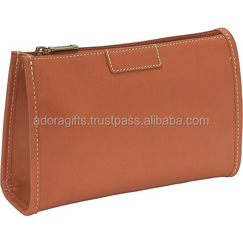High Quality Imitation leather cosmetic pouch/cosmetic bags/travel make up bag