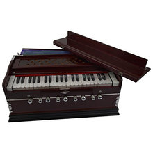 Indian Musical Instrument Harmonium PROFESSIONAL GRADE 3 1/2 OCTAVE 9 STOPS SHRUTI 440Hz YOGA MANTRA KIRTAN