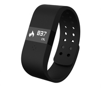 DIGICare Waterproof IP67 Bluetooth v4.0 Touch Screen Smart Bracelet watch Sports Wristband For Android/IOS Cell Phone