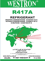 R417a Refrigerant 99.99% Purity with good price in UAE