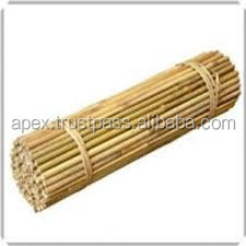 Natural Bamboo canes/ poles/ stakes/sticks suppliers for Planters, Plant support