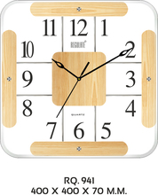 VETRO COLLECTION WALL CLOCK