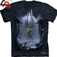Custom sublimation polyester fishing t shirt