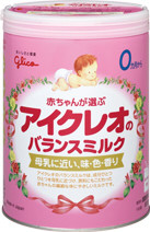 glico icreo balance milk milk powder sleepy baby diaper