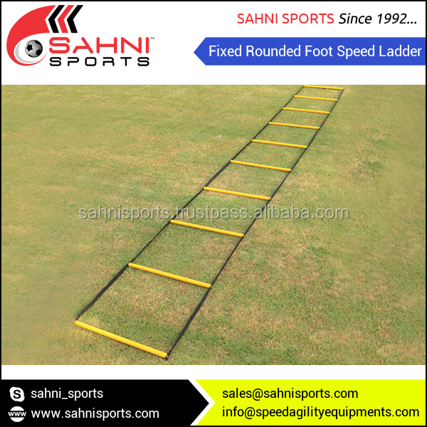 Fixed Rounded Foot Speed Agility Ladder