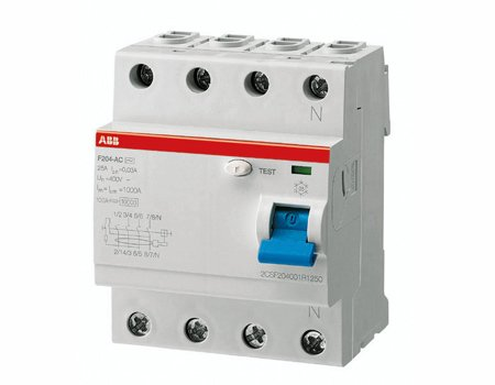 Residiual Current Circuit Breaker - RCCB
