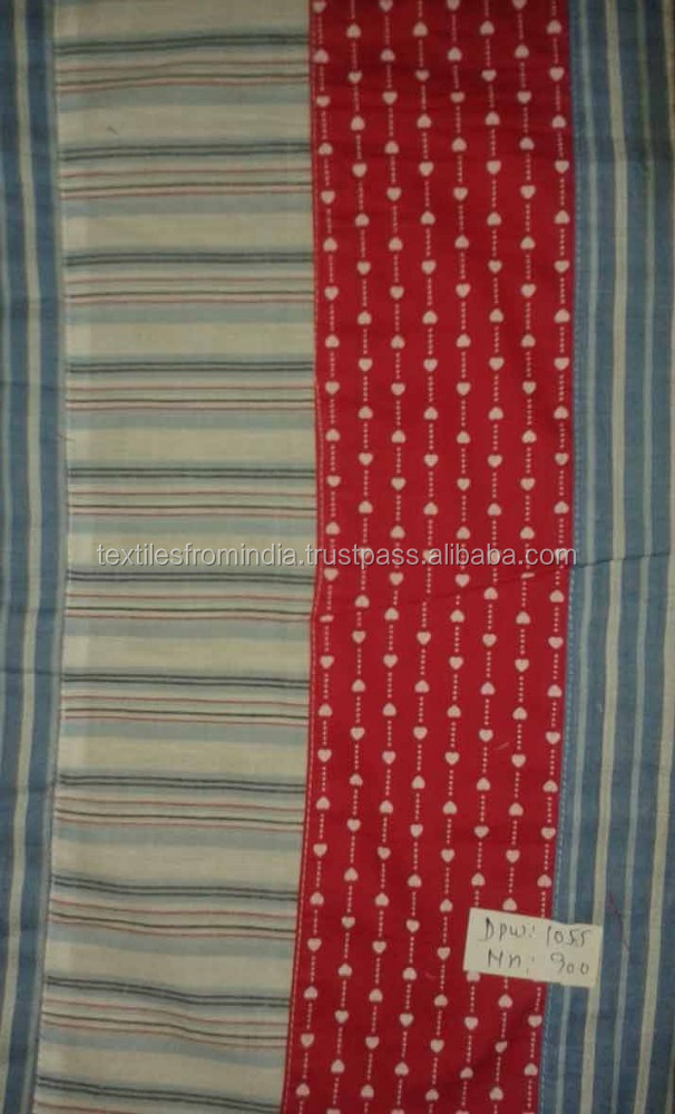 madras cotton 2016 cotton patchwork fabric stock lot