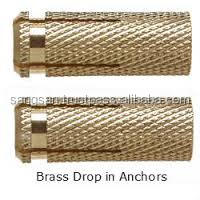 Brass Drop in Anchor