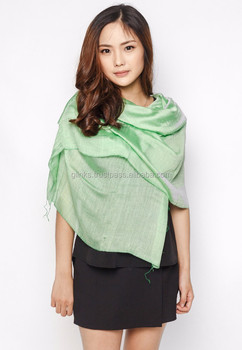 Customized 100% Linen Scarf Made in Vietnam