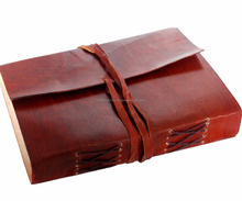 Vintage Leather Notebook Journal Diary Made In India
