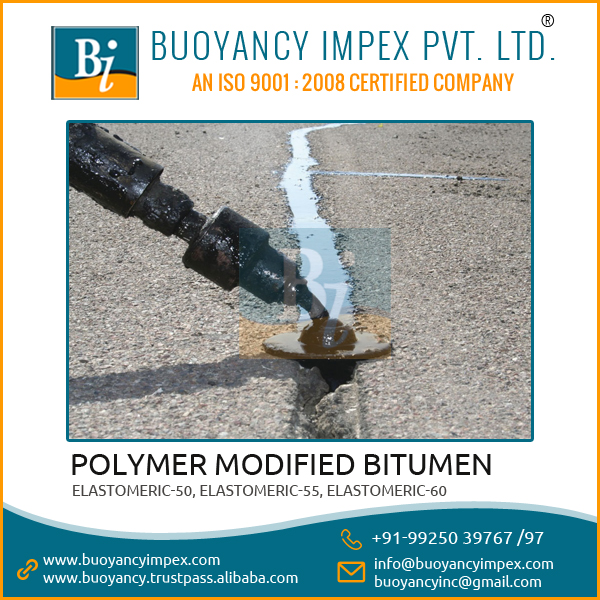 Valuable Polymer modified Oxidized bitumen for Heavy Duty Road Construction
