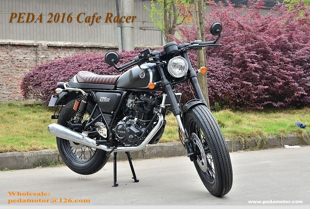 (PEDA 2017) Cafe Racer Locomotive Vintage Motorcycle 125cc 200cc 250cc Retro Styling Italian Brand