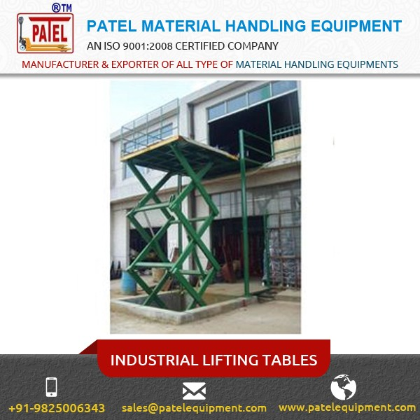Best Grade Industrial Lifting Tables for Multipurpose