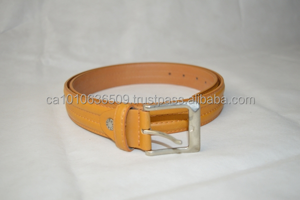 high quality Men's pu belt with alloy buckle