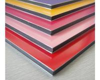Interior/exterior wall cladding plastic ACP/ ACM Aluminum composite