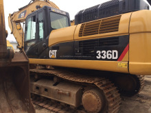 second hand used caterpillar 336d excavator made in USA
