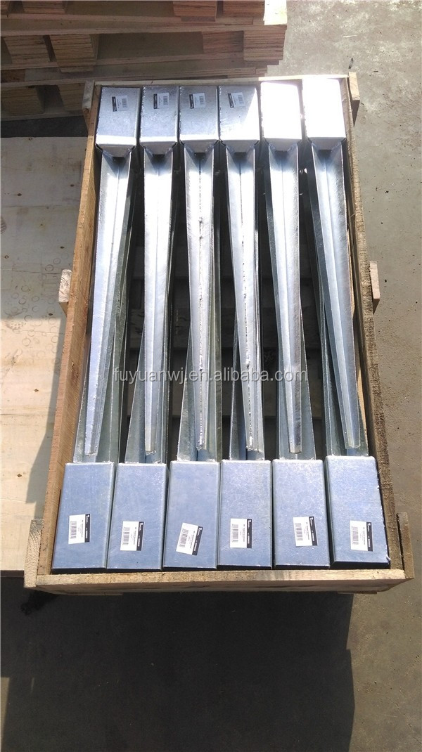 2017Factory direct supply hot sale galvanized pole anchor(wholesale)