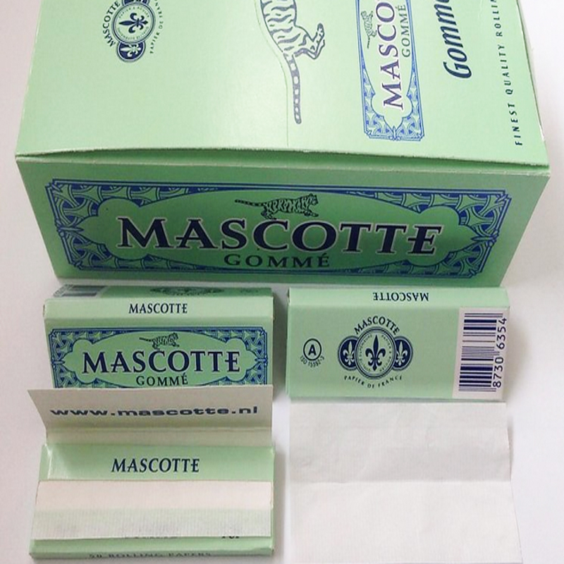 Mascotte 50 Booklets 70mm Multipurpose Smoking Rolling Papers (ES-RP-010)/cigarette rolling paper