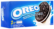 OREO CHOCOLATE SANDWICH COOKIES WITH VANILLA CREAM BOX 274G (2 X 137G)