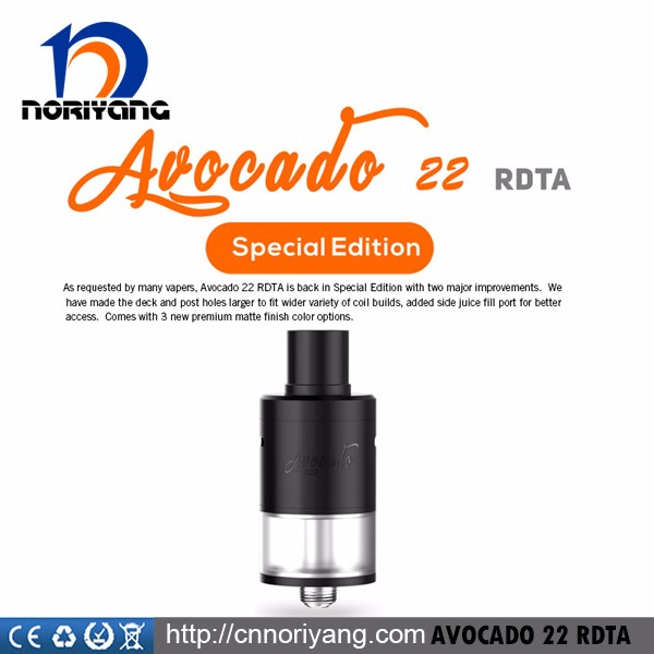 Geekvape Avocado 22 RDTA Special Edition with 3.5ml Capacity and Side-filling Design