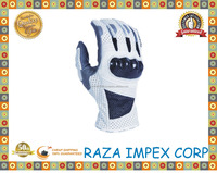 Very fashionable wholesale White Riding gloves , motorbike gloves motor cross off road gloves