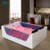 Luxury1750MM Whirlpool Shower Spa Jacuzzi Massage Corner 2 person Bathtub Model: 6181