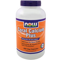 Coral Calcium, PLUS MAG, 250 Vcaps by Now Foods