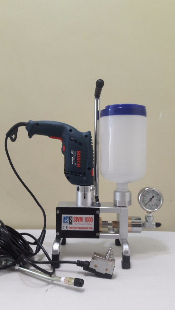 Epoxy Injection machine for Crack Repair