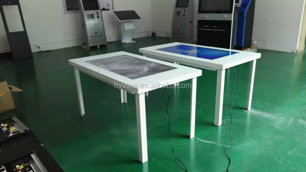 High quality good price multi touch restaurant coffee table for dining