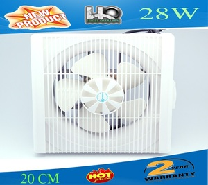 Wall mounted plastic 296mm 292mm ventilation fan