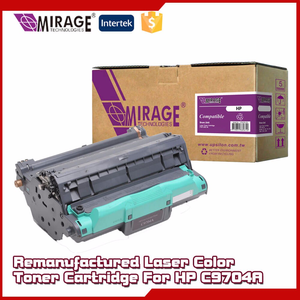 Remanufactured Laser Toner Refill C9704A Cartridge For HP