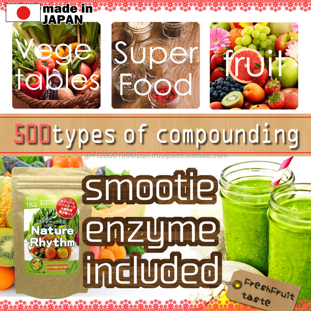 Nature rhythm healthy fruit smoothies mix made in Japan