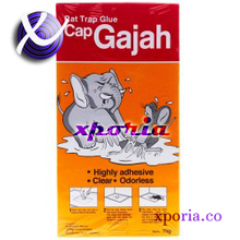 GAJAH Rat Trap GLUE ON CARDBOARD | Indonesia Origin | Cheap popular mice control for home use