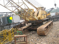 Used japan Hitachi kh180/ 35ton crawler crane in shanghai for sale!