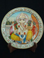 Marble Thali Plate Handicraft Religious Gift Decor wedding gift