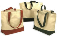 Tote shopping bag for promotional/ cotton canvas tote bags