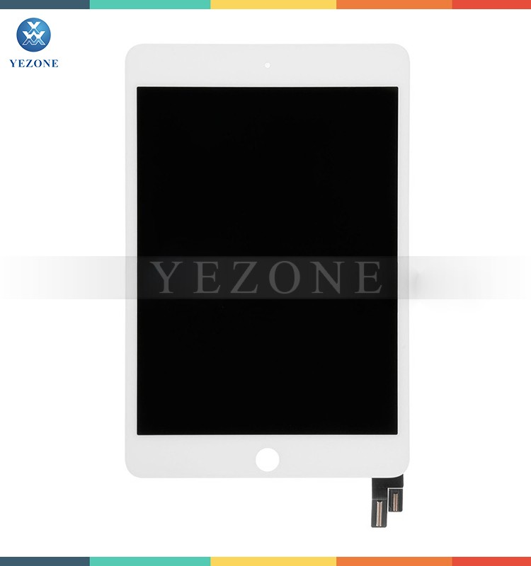 New Arrival White 7.9 inches LCD For iPad Mini 4 LCD with Touch Screen Digitizer Assembly Replacement