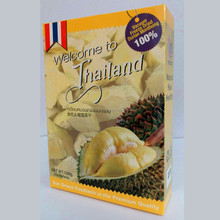 Brand Welcome to Thailand Vacuum Freeze Dried Thai Durian Monthong , Dried Fruit Snack , Healthy Snack