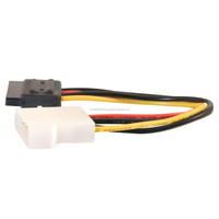 6inch 4 Pin Molex to SATA Power Cable Adapter