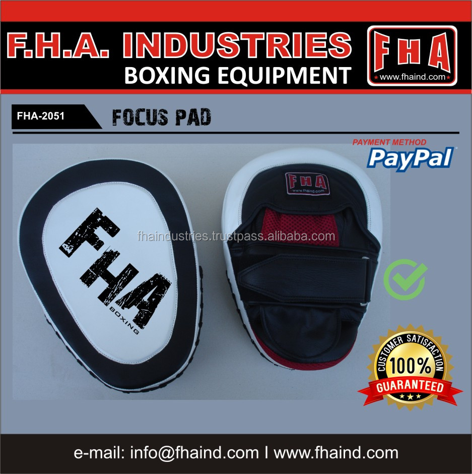 Coach Pads / Focus Mitts / Boxing Training Gear by FHA INDUSTRIES SIALKOT PAKISTAN