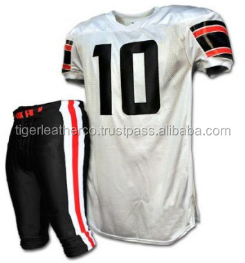 professional custom sublimation youth american football uniforms