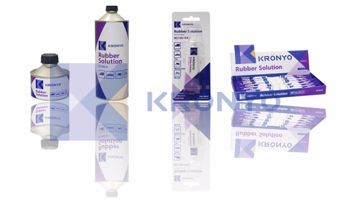 KRONYO rubber adhesive sealant glue tire glue