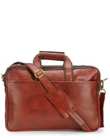 TEAKWOOD LEATHER REAL GENUINE Laptop BAG