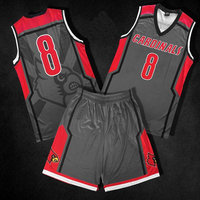 Latest basketball uniform popular cheap wholesale youth basketball jersey customer design sportswear kit