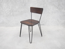 Industrial Chair with pin style legs
