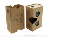 Vking Paper Virtual Reality 3D Video VR Box Headset Glasses Google Cardboard 3D Glasses for Mobile Phone 5.0