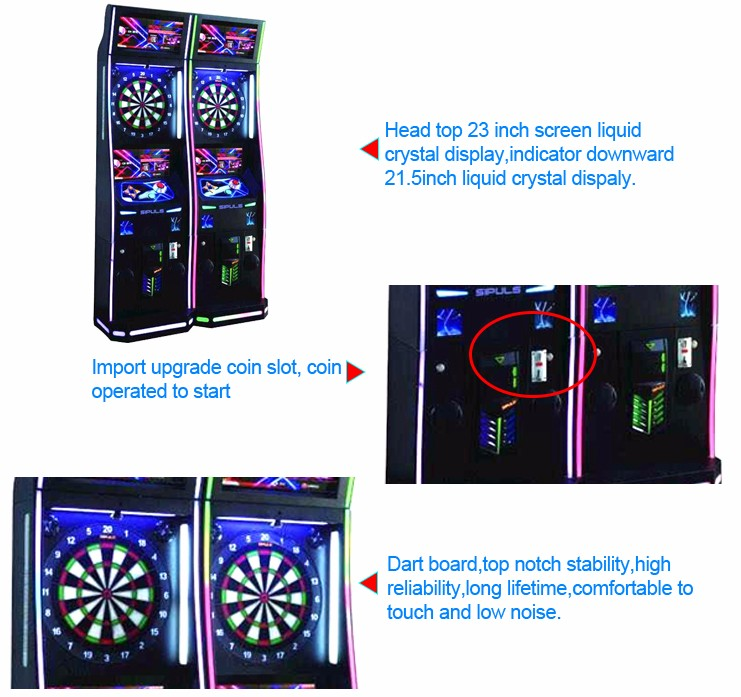 Qingfeng 2016 canton fair 20% discount dart redemption games phoenix dart machine