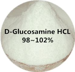 treat Joint pain 100% pure D-glucosamine HCL 98~102%