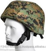 Military helmet safety cover